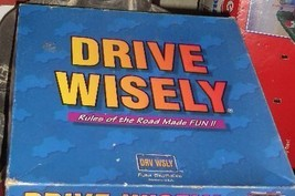 DRIVE WISELY GAME RULES OF THE ROAD MADE FUN - $15.00