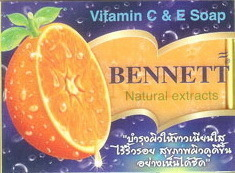 BENNETT NATURAL EXTRACTS VITAMIN E & C SOAP, HERBAL OIL
