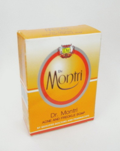 DR. MONTRI SOAP - CLEARS ACNE AND FRECKLES