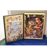"Musical Wooden Christmas Book 1997 ""We Wish You A Merry.."" - $9.00"