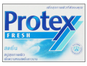 PROTEX FRESH ANTIBACTERIAL  SOAP MOISTURIZES & PROTECTS