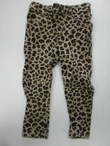 The Childrens Place leopard print skinny pants - $3.91