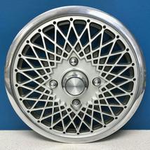 """ONE 1984 Chrysler Laser # 445 14"""" Diamond Style Hubcap / Wheel Cover # 4284021 - $14.99"""