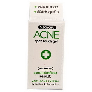 DR SOMCHAI ACNE SPOT TOUCH GEL - CLEARS ACNE PIMPLES