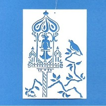 Hans Christian Andersen's - The Nightingale - Brass Mobile Hanger - $9.00