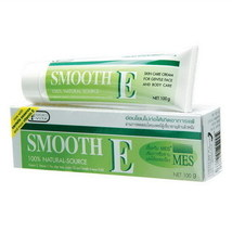 Smooth E Cream w/ Aloe Reduce Wrinkles Heals Scars 100g - $22.89