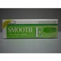 Smooth E Cream w/ Aloe Reduce Wrinkles, Heals Scars 15g - $5.59