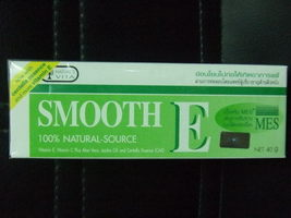 Smooth E Cream w/ Aloe Reduce Wrinkles, Heals Scars 40g - $17.44
