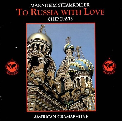 MANNHEIM STEAMROLLER TO RUSSIA WITH LOVE CD  RARE