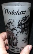 Natchez, Mississippi Souvenir Glass - ACL - No Reserve - $5.95