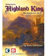Highland King:Scottish Lute Tunes Arranged For Guitar by R. McFarlane - $17.95