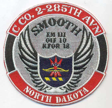 Officially Licensed Army C Co 2-285 Aviation, ND National Guard Patch - $11.87