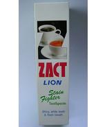 ZACT LION TOOTHPASTE SHINY WHITE TEETH FRESH BREATHZACT LION - $3.79