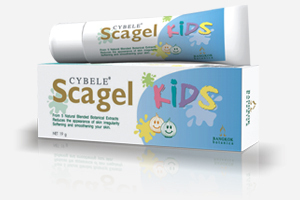 CYBELE SCAGEL SCAR GEL FOR KIDS, REDUCES SCARS  9g.
