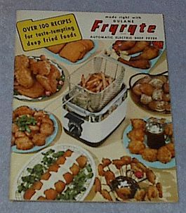 Primary image for Vintage Dulane Fryryte Deep Fryer Recipes Cookbook 1950