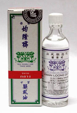 KWAN LOONG OIL HERBAL DIZZY INHALER STUFFY NOSE 15ML