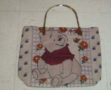 Brand New Knitted Winnie the Pooh Tote purse