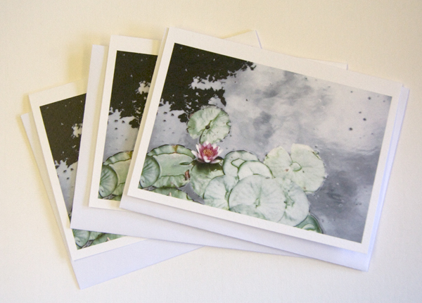 Glowing Lily Notecards, Set of 3