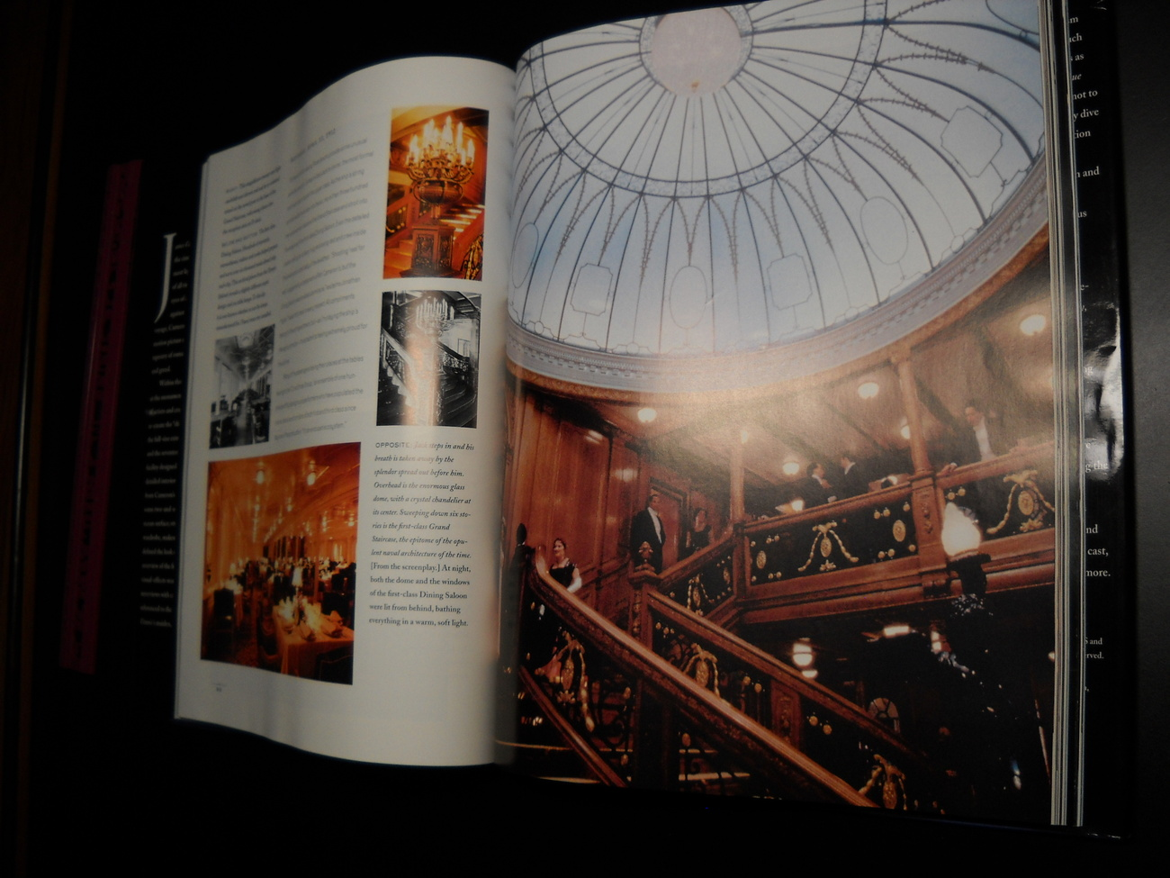 James Cameron's Titanic Harper Collins 1997 Ed W Marsh Douglas Kirkland HCDJ