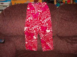 Love, Honey, Hugs & Kisses PJ pants size 4/5 XS Girl's NEW HTF - $16.91
