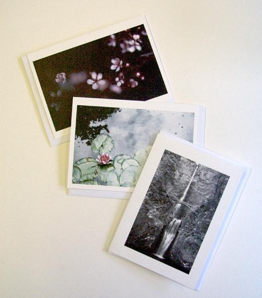 3 notecards
