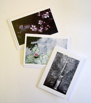 Set of 3 Notecards, 1 of each design - $8.00