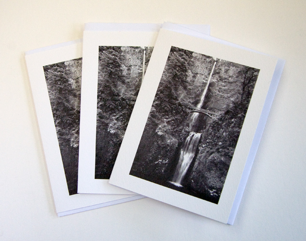 Multnomah Falls Notecards, Set of 3