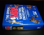 Book the official nba basketball encyclopedia 1989 villard books compliments cleveland cavs hcdj 02 thumb155 crop