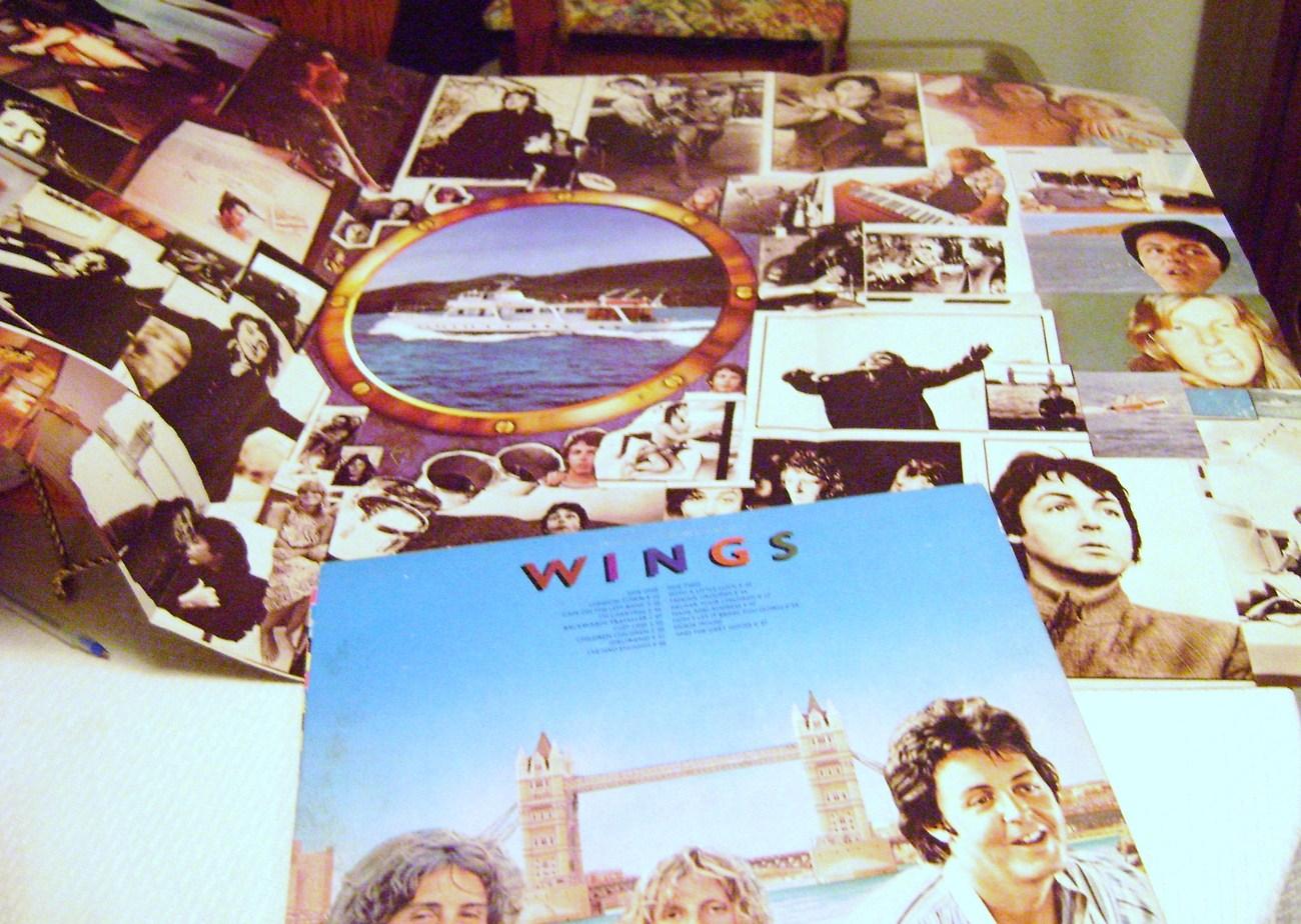 Paul McCarthy and Wings London Town LP