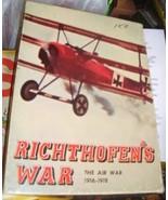 RICHTHOFEN'S WAR 1972 BOARD GAME - $21.00