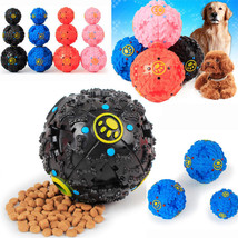 New Puppy Pet Dog  Dental Teething Healthy Teeth Chew Training Play Ball... - $16.00
