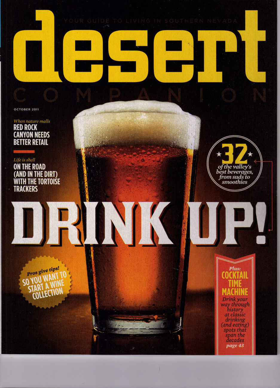 DRINK UP, KNIGHT VIPER TEAM @ DESERT CompanionLas Vegas Mag OCTOBER 2011