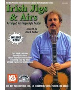 Irish Jigs and Airs Book/arranged For FIngerstyle Guitar/Book w/ 3 CDs - $22.95
