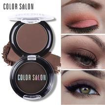 Color Salon Natural Matte Eyeshadow Palette 18 Colors Pigment Naked Eye Shadow M - $3.68