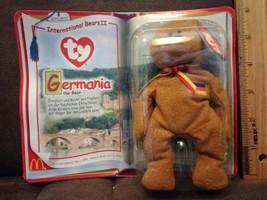 TY Teenie Beanie Baby Germania Mcdonald's happy meal toy - (New Sealed) - $3.99