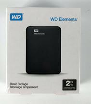Western Digital Elements 2TB Portable External Hard Drive - Black - $69.29