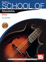School of Mandolin:Blues/Book w CD Set/New - $12.99