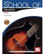 School of Mandolin:Blues/Book w CD Set/New - $12.99