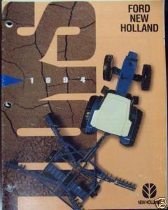 1994 Ford-New Holland Ertl Toy Catalog