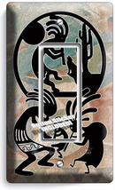 Kokopelli Southwest Hopi Fertility Sperit 1 Gang Gfci Light Switch Plates Decor - $8.99