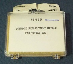 PS-135 for N796-sd RECORD NEEDLE for Tetrad C1D Tetrad C2D Tetrad C3D M853-DS73 image 2