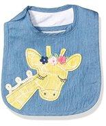 Mud Pie Baby Girls' Bib Applique, Giraffe, One Size - $14.69