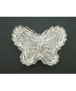 GLASS BUTTERFLY TRINKET BOX - BEAUTIFUL ITEM! - $3.99