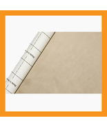 beige adhesive faux suede fabric span upholstery  car automotive boat in... - $24.50