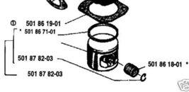 Piston Assembly Husqvarna Chainsaw 501878203 154, 254 - $103.99