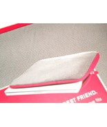 Brookstone Slim (up to 15.4 Inches) Laptop Sleeve / Case (Grey/Red color) - $23.99