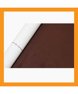 dark brown adhesive faux suede fabric span upholstery automotive boat in... - $24.50