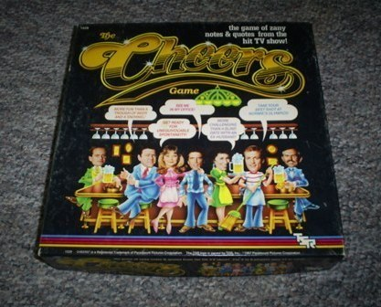 Cheers Game, TV  Show You Can Play at Home, 1987 Vintage Board Game