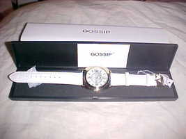 Gossip Womans Watch Brand New With Case And Tag - $22.99