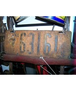 Antique 1916 Pennsylvania License Plate  - $150.00